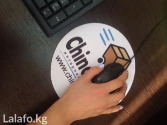 Печать на ковриках для мышки в Бишкек