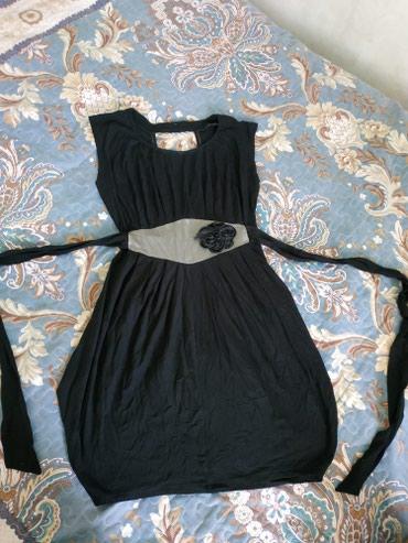 Чёрное платье , Турция,спинка чуть в Беловодское