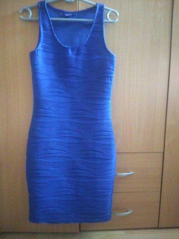 Plava haljina, kao nova. Duzine malo iznad kolena. Velicina  s, moze i - Belgrade