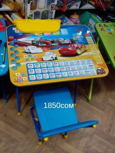 Детские раскладные парты.. с доставкой по городу. Цена на фото в Бишкек