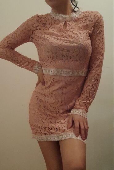 Haljina cipele - Srbija: Haljina nova roze cipka postavljena svilom,moze se videti i uzivo. Cen