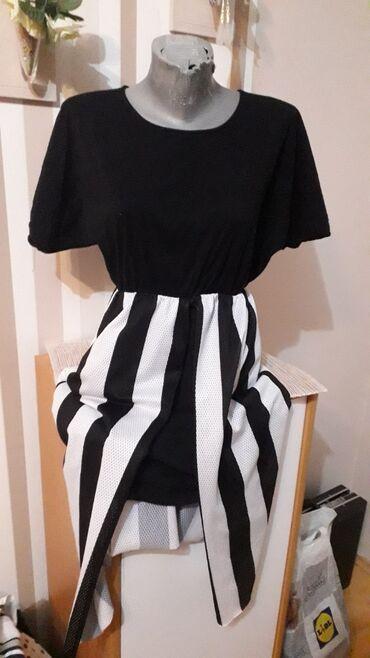 Haljina st - Srbija: Tunika haljina pamuk secena napred standardna vel