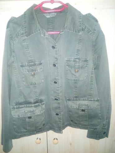 Ostalo | Vranje: Maslinasta teksas jakna vel.40 veoma povoljno!