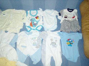 Dečija odeća i obuća - Razanj: Garderoba za decake od 0-3 meseca,kao novo,bez ostecenja,sve je