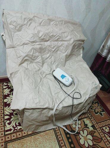 Ортопедические матрасы и подушки - Кыргызстан: Противопролежневый матрас с компрессором состоит из воздушных ячеек, к