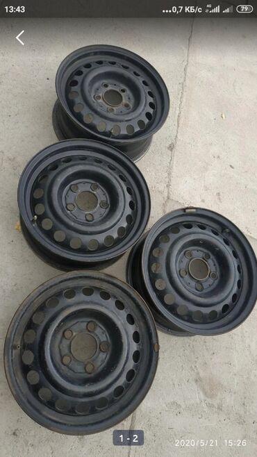 r15 диски купить в Кыргызстан: Куплю железные диски на Тойоту виш R15