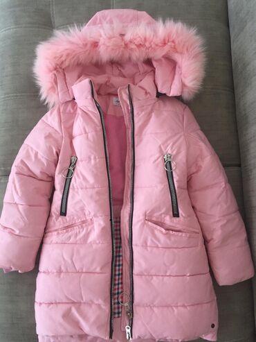 зимние развлечения в Азербайджан: Зимняя куртка новая, на 8 - 10 лет
