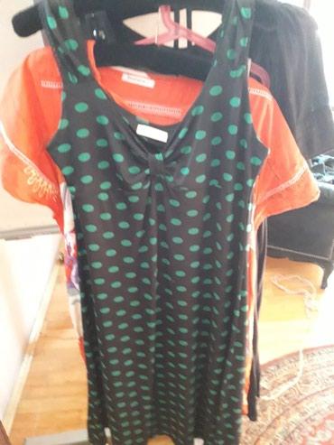Tufnasta haljina likra..odgovara i l i xl i 2xl - Crvenka