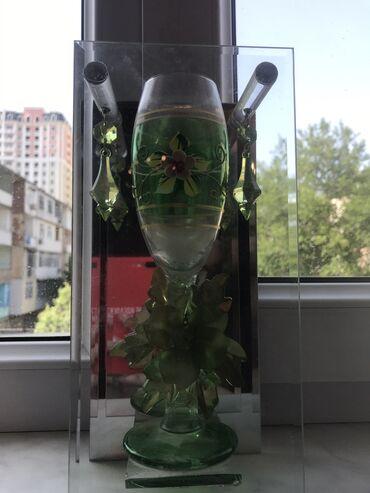 Сувенирный бокал, пить из него нельзя, для красоты, красивый декор