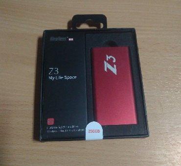 ssd диски sandisk в Кыргызстан: Внешний SSD 256Gb USB Новый жесткий диск.Алюминиевый корпус. Размер