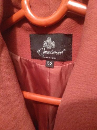 Продаю пальто размер 52 сами купили за 3000 . каракол в Каракол