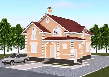 Идеальный проект мансардного дома в Бишкек