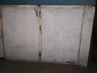 ворота на гараж в Кыргызстан: Железные ворота для гаража