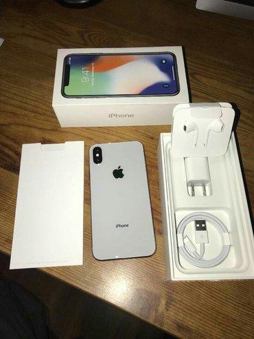 Bakı şəhərində iPhone X 256 gb gümüş