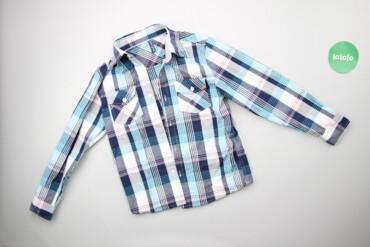 Топы и рубашки - Синий - Киев: Дитяча стильна сорочка Gloria Jeans, вік 9-10 р.    Довжина: 50 см Шир