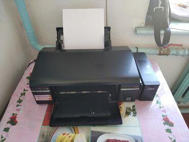 Компьютеры, ноутбуки и планшеты в Каинды: Продам цветной принтер Epson l805новый рабочий и компьютер с моинтором