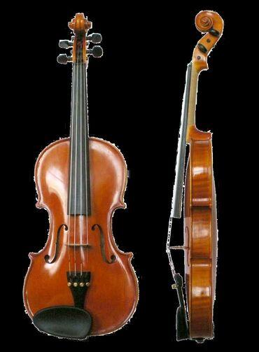 Музыкальные инструменты - Бишкек: Скрипка 4на4