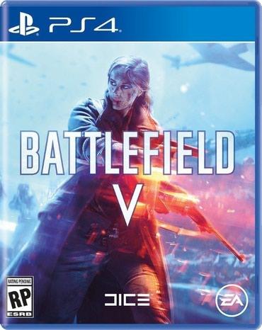 games-for-3ds в Кыргызстан: BATTLEFIELD 5 для PS4Самые низкие цены на игры от PS4 в