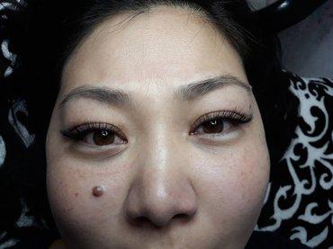 наращивание ресниц материалы lux 1d 2d 3d 4d гипоаллергенный  клей нос в Бишкек