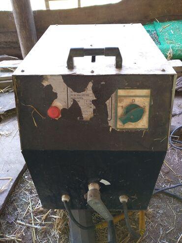 Ev və bağ Oğuzda: Qaynaq aparatı. Orijinal türk malıdır. 2 fazalı professional makinad
