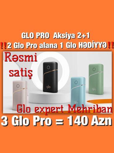 70 - Azərbaycan: Glo Pro! + Hüsusi təklif‼️70 AZN‼️ Tütünü yandırmadan qızdıran Glo