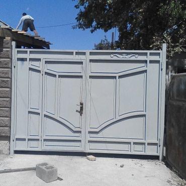 Ворота в Бишкек