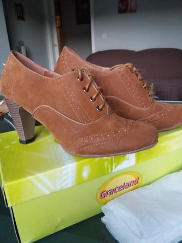 Ženska obuća | Bor: JOS JEDNO SNIZENJE. Cipela moderne svetlo braon boje od