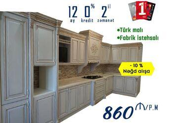 Mətbəx Mebeli Klassik - 860 AZNBirKart keçərlidirNəğd Satışa 10%