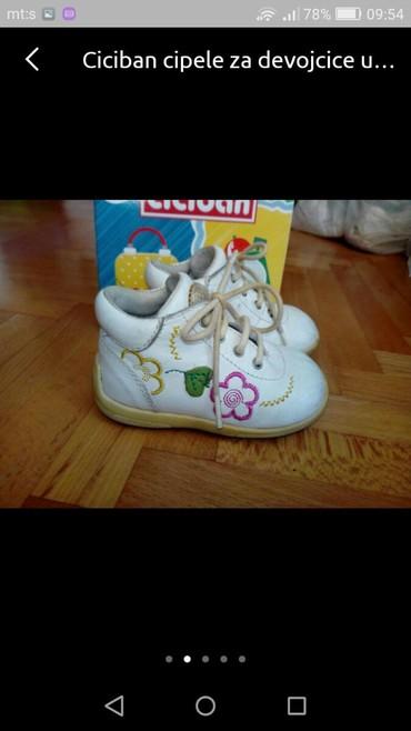 Ciciban cipele za devojčice u broju 17 - Pozarevac