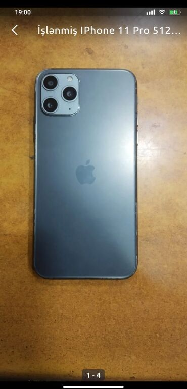 Apple Iphone - Bakı: İşlənmiş IPhone 11 Pro 512 GB Boz (Space Gray)