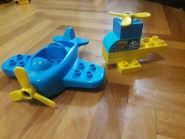 Rc avion - Srbija: Lego avion i helikopter