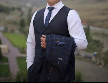 Мужской костюм. Одевал только 2 раза на свадьбу и на фотосессию