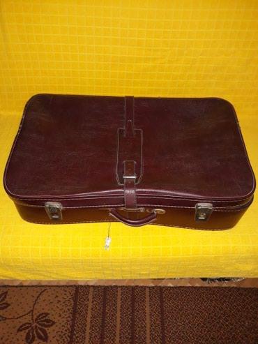Tašne - Pozarevac: Putna torba-kofer bordo braon boje ocuvana par puta nosena.dimenzije