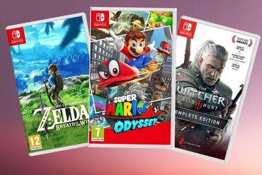 Nintendo Switch - Azərbaycan: Nintendo switch oyunları