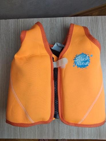 Жилет для плавания. возраст 3-6 лет, 18-30 кг
