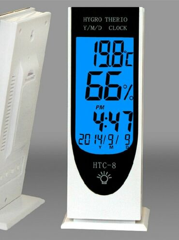 "7 elan | TIBBI MƏHSULLAR: Termometr Termometr "" Htc-8 ""Termometr HTC-8Temperatur ve Nemisliyi"