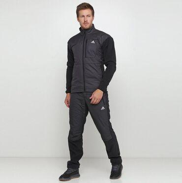 Мужской спорт.костюм Adidas  На рост 160-175 Непромокаемая лицевая сто