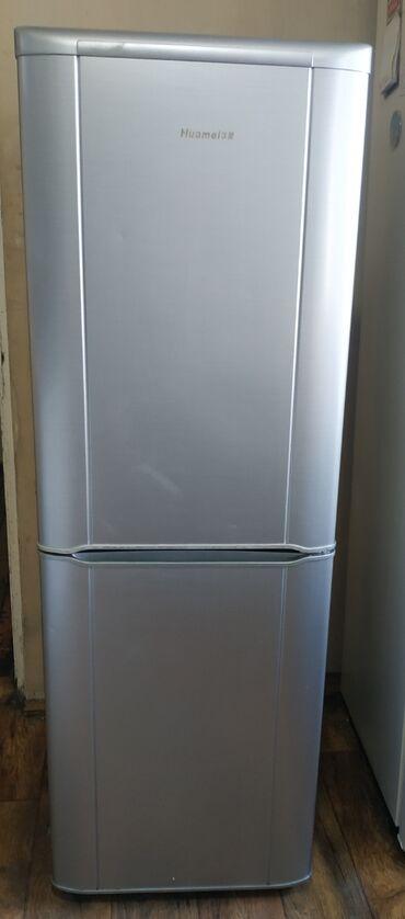 продам наковальню в Кыргызстан: Б/у Двухкамерный Серый холодильник
