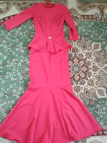 красное платье на свадьбу в Кыргызстан: Платье Вечернее White Pony Ladieswear S