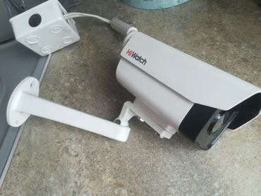 Видеокамера уличная Hiwatch DS-I110 (4 mm), IP, 720 P, 1 Мп Почти