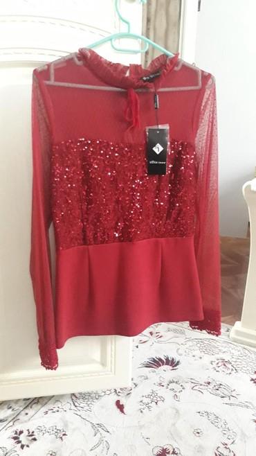 Рубашки и блузы - Кок-Ой: Блузка (новая)Турция вечерняя шикарно сидит.Брали за 2500 отдам за