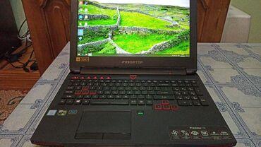 Acer в Кыргызстан: Продается Acer predator 15Процессор: Intel core i7-6700HQ (2.6GHz) 4