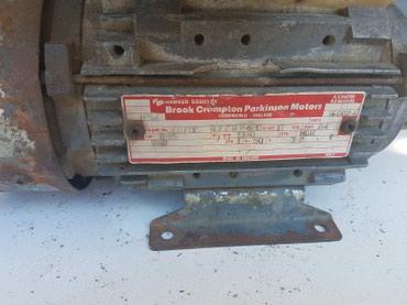 El.motor,stope, 220V 0,25kW 1390 o/min - Priboj