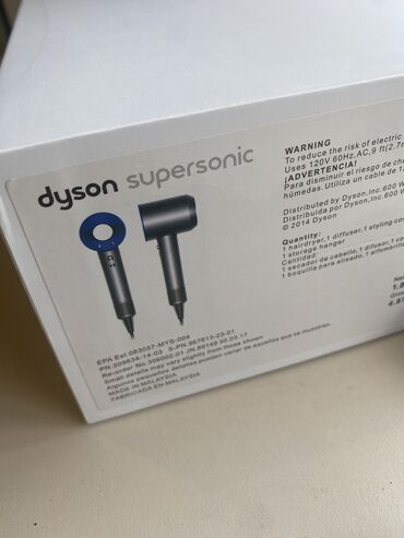 сетка для футбольного поля в Кыргызстан: Продаю фен Dyson Supersonic синий. Новый. Из США.   Не работает с наши