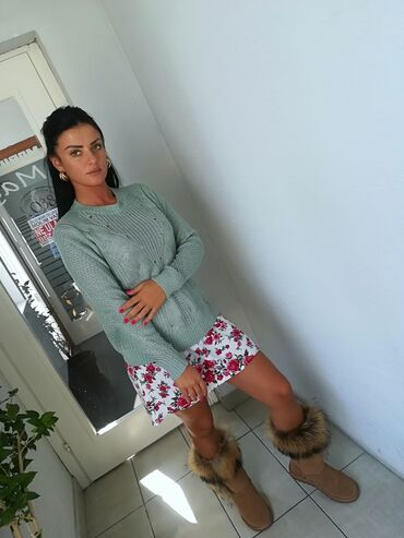 Ženska džemperi - Srbija: Super bluza mint boja Vrhunski kvalitet Povoljno Vel S M L