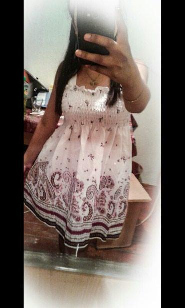 белое летнее платье в Кыргызстан: Летние платье, материал хб
