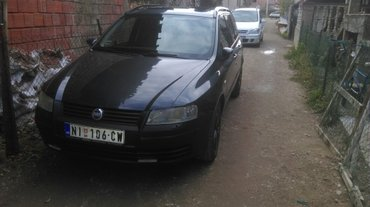 Fiat stilo 1. 8 16v 2003 god. 98. Kilovata 133ps. Bez ulaganja registr - Nis