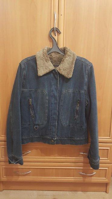 детская джинсовая куртка в Кыргызстан: Джинсовая курткаразмер 44