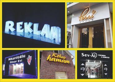Reklam, poliqrafiya - Azərbaycan: Qabariq herflerin sifarishi