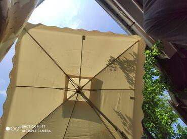 Другие товары для дома - Кыргызстан: Продаю зонт отличного качества, состояние хорошое, примерно2*2прошу